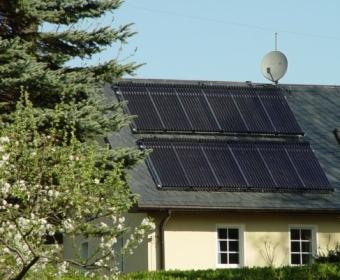 Biomasse und Solarthermie